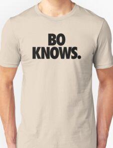 BO KNOWS. Unisex T-Shirt