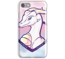 Dragon Positivity (alternate) iPhone Case/Skin
