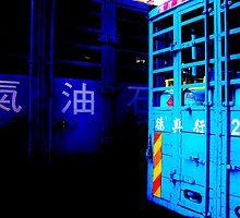 Blue Trucks by brian hammonds