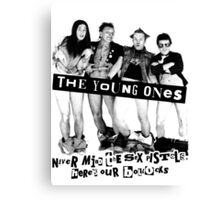 THE YOUNG ONES Canvas Print