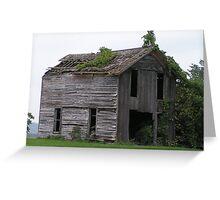 Dilapidated Farmhouse Greeting Card