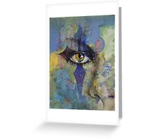 Gothic Art Greeting Card