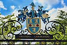 Rugby school coat of arms by Avril Harris