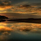 Mystical Morn - Narrabeen Lakes Entrance, Sydney - The HDR Experience by Philip Johnson