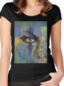 Gothic Art Women's Fitted Scoop T-Shirt