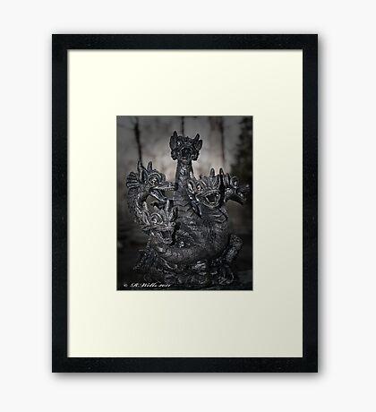 Magic Dragon Framed Print