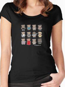 Bear GaGa Women's Fitted Scoop T-Shirt