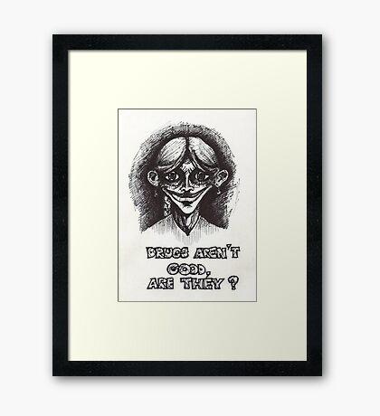 Drugs Framed Print