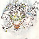 Too many cooks spoil the broth by Vladimir Kotov