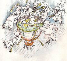 Too many cooks spoil the broth by Vladimir Kotov