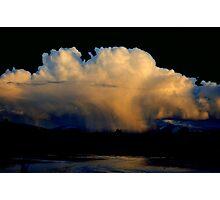 CLOUD BURST SUNSET Photographic Print