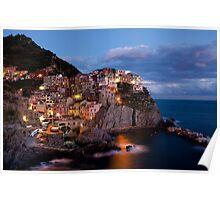 Manarola, Cinque Terre, Italia Poster