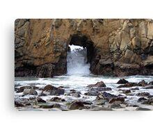Pfeiffer Beach Rocks Canvas Print
