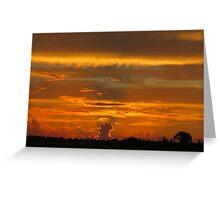 Hangar Sunrise (1) Greeting Card