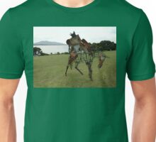 Iron Horse Sculpture,Bermagui,Australia 2015 Unisex T-Shirt