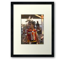 Young Man #1 Native American Culture Lives On Framed Print