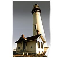 Light House at Pigeon Point Poster