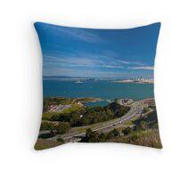 San Francisco Bay Throw Pillow