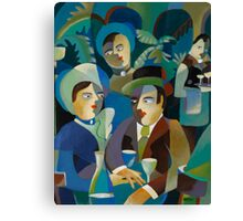 THE DINERS Canvas Print
