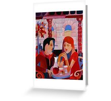 THE DINERS II Greeting Card