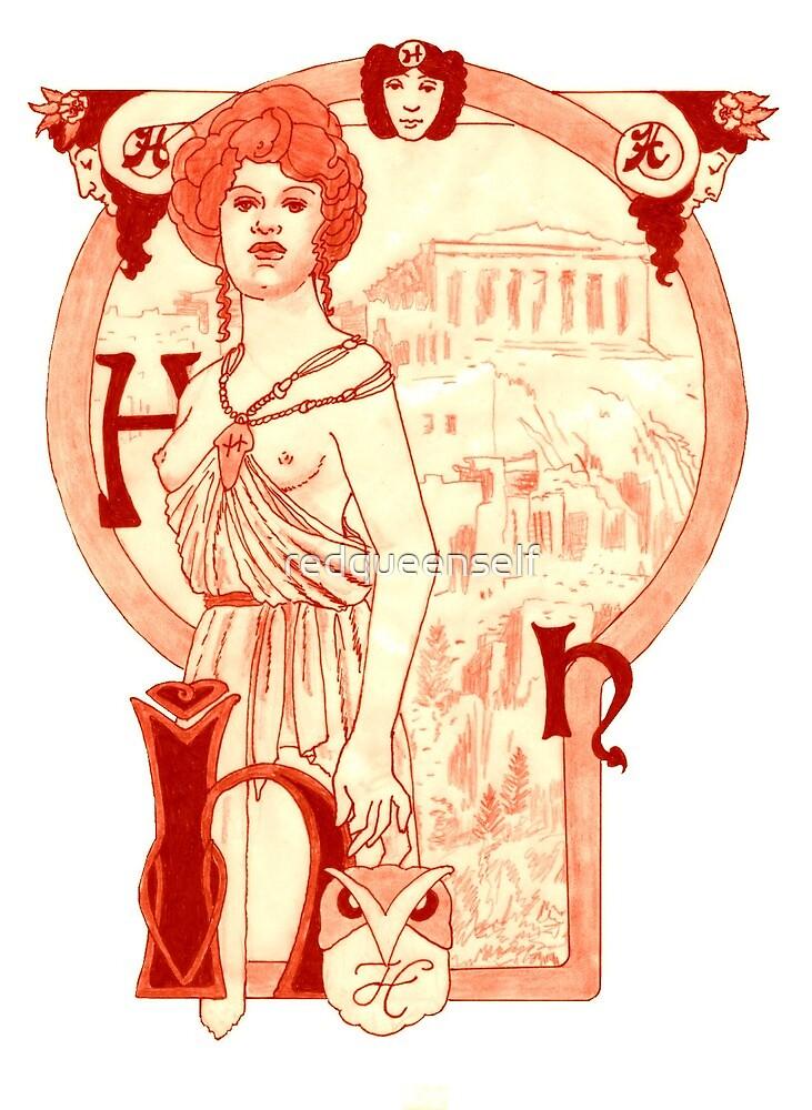 Helen of Troy by redqueenself