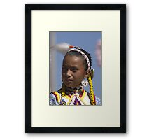Princess  #1  Native American Culture Lives On Framed Print
