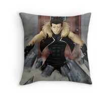 Greed - I'm bringing sexy back~ ♪  Throw Pillow