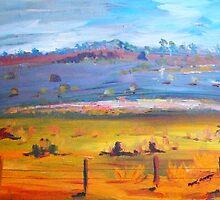 Storm brewing over Mt William, Victoria, Australia by Margaret Morgan (Watkins)