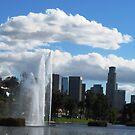 Echo Park in Los Angeles by loiteke