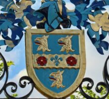 Rugby school coat of arms Sticker
