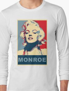 Marilyn Monroe Pop Art Campaign  Long Sleeve T-Shirt