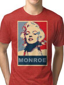 Marilyn Monroe Pop Art Campaign  Tri-blend T-Shirt