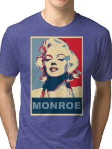 Marilyn Monroe Pop Art Campaign  Tri-blend T-Shirt