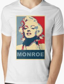 Marilyn Monroe Pop Art Campaign  Mens V-Neck T-Shirt