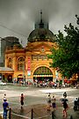 Flinder's Street Station by Christine Smith