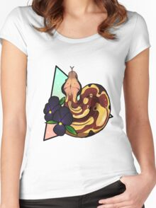 Magical Blood Python Women's Fitted Scoop T-Shirt