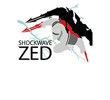 Shockwave Zed Photographic Print