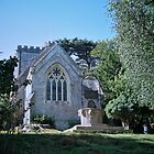 St Mary's, Brownsea Island by Lisa Hafey
