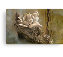 """The Gentlewoman's Shoe ..."" Canvas Print"