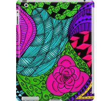 Rose in Green and Blue iPad Case/Skin