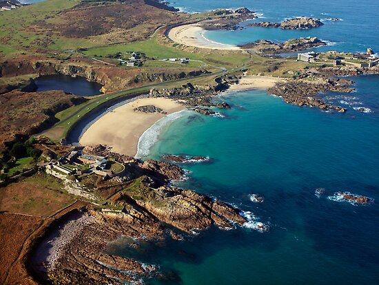 Corblet&#x27;s Beach - Alderney by NeilAlderney
