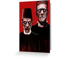 THE ODD COUPLE ! Greeting Card