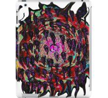 psychedelic twisting vortex  iPad Case/Skin