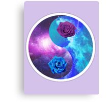 Rose Yin Yang *Limited time only Canvas Print