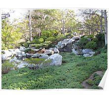 Japanese Garden Overview Poster