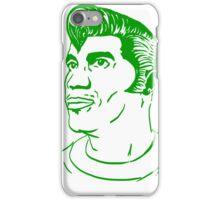 Kool Keith - Black Elvis (green) iPhone Case/Skin