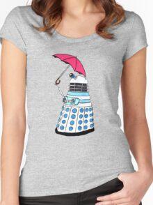 Pink Umbrella Women's Fitted Scoop T-Shirt