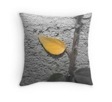 Waking up old Throw Pillow