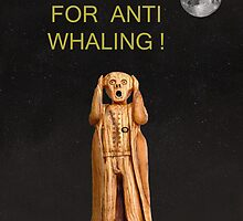 Scream For Anti Whaling by Eric Kempson