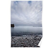Harbour Wall Poster